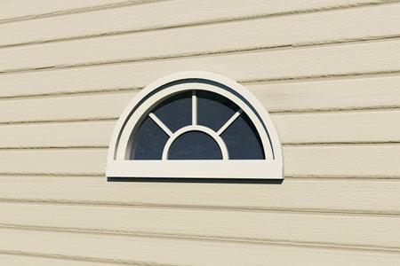 Window half round for 12 round window
